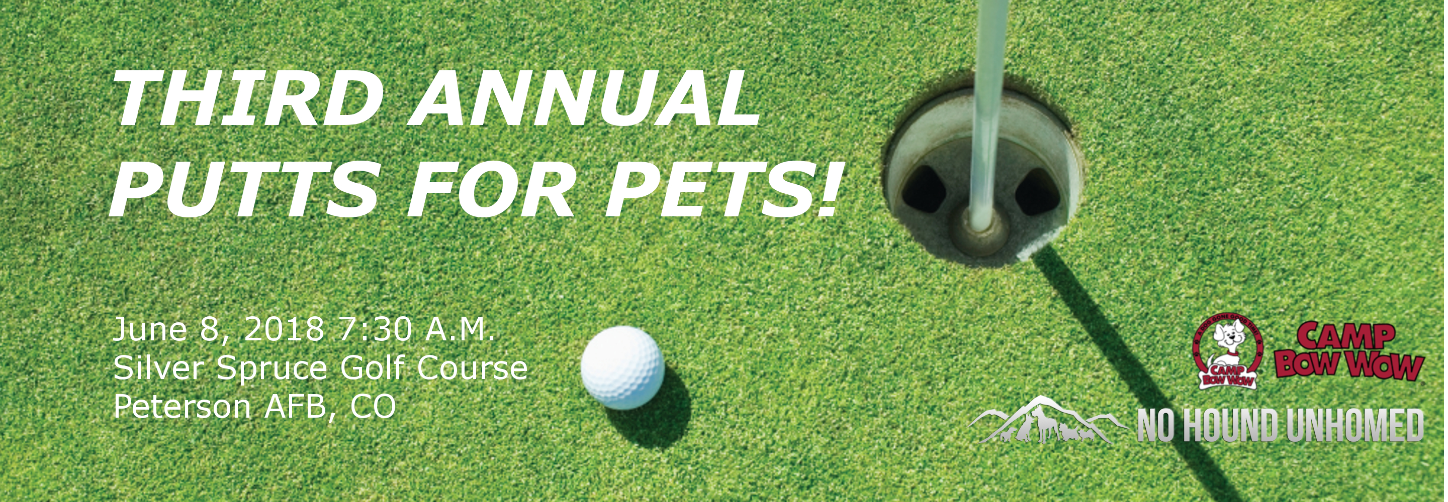 3rd Annual Putts for Pets